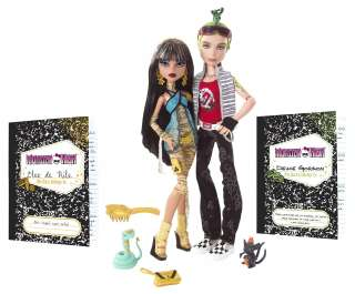 New Toy Monster High Doll Gift Set 6 years & up