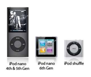 Waterproof CASE  +Headphones iPod Nano 16gb 5th 6th