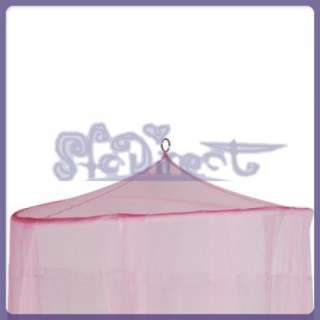 PINK MESH PRINCESS Baby BED CANOPY MOSQUITO NETTING
