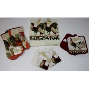 Kitchen Accessories Set (includes 2   Oven Mitts, 2   Pot Holder