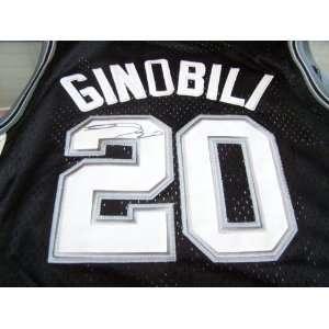 Manu Ginobili San Antonio Spurs Signed Autographed