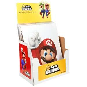 By Party Destination Super Mario Bros. POP Display and (12) Standups