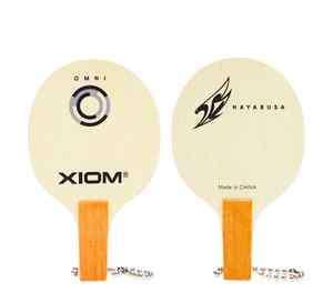 NEW XIOM LOGO MINI BLADE KEY RING Raket Table Tennis Ping Pong