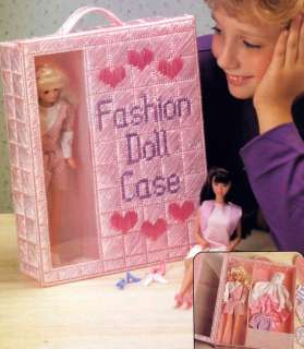 3 Plastic Canvas Barbie Fashion Doll Furniture Patterns