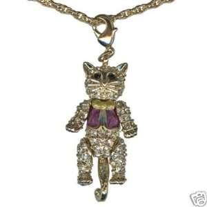 Kirks Folly TOP CAT NECKLACE MOVABLE CHARM PENDANT NEW Toys & Games