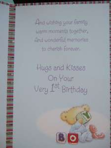 Personalised handmade tractor birthday cardandson sonetc1st2nd first birthday card grandson with fabulous verses 1st bookmarktalkfo Choice Image