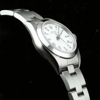 Ladies Rolex Oyster Perpetual SS Watch