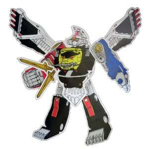 Power Rangers Megazord Jointed Cutout   Party Decoration