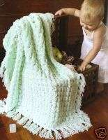 Baby Afghans Crochet Patterns Sweaters Bunting Snowsuit