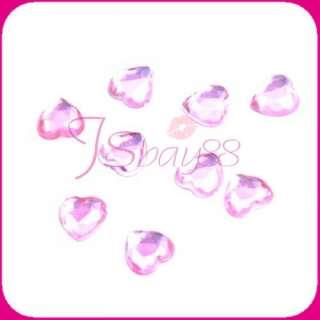 Bridal Love Hearts Wedding Decoration Table Centerpiece