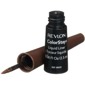 Revlon ColorStay Liquid Liner, Bronze Shimmer 254, 0.08 Ounce Beauty