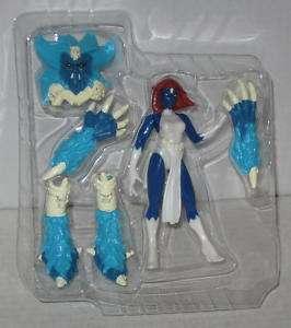 Men Mystique Action Figure Toy Biz Complete